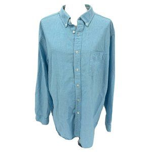 Natural Basix Blue Turquoise Mens Shirt All Cotton